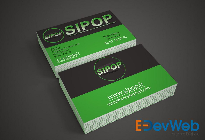 cartes de visite SIPOP